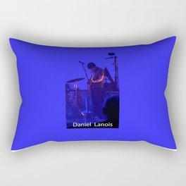 the man on the guitar Rectangular Pillow