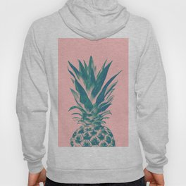 Blush Pineapple Dream #3 #tropical #fruit #decor #art #society6 Hoody