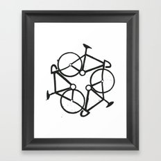 Trycycle Framed Art Print