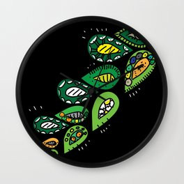 touch_leaves Wall Clock