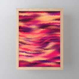 Painted Rainbows 8 Framed Mini Art Print