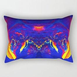 Tecno Nightmare Rectangular Pillow