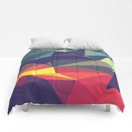 Flash Of Color Comforters