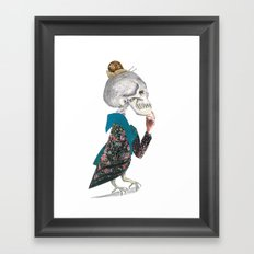 What was the question? Framed Art Print