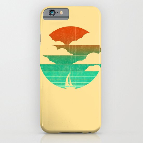 Go West (sail away in my boat) iPhone & iPod Case