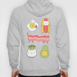 Cat food and succulent Hoody