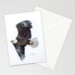 Eagle soaring Stationery Cards