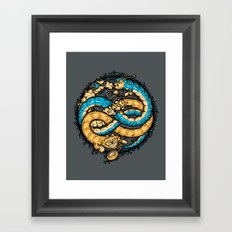 NEVERENDING WONDERLAND Framed Art Print