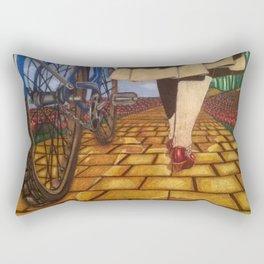 Modern Emerald Rectangular Pillow