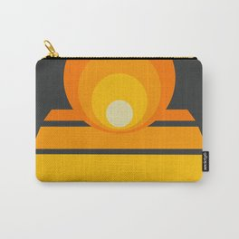 Circles & Stripes 02 Carry-All Pouch