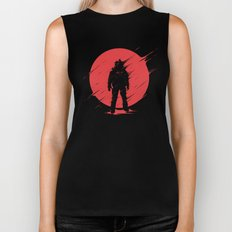 Red Sphere Biker Tank