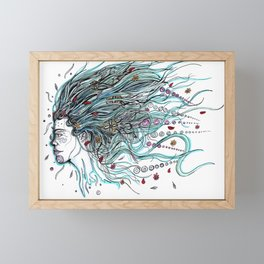 Flowing Dreams Framed Mini Art Print