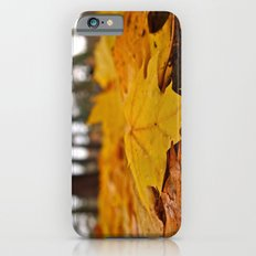 Golden leaves iPhone 6s Slim Case