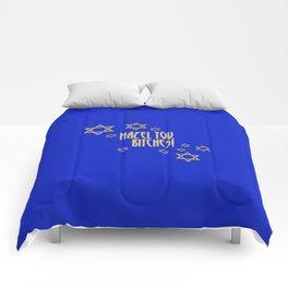 You go, girl! (blue) Comforters