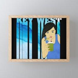 Drink Up in Key West Framed Mini Art Print