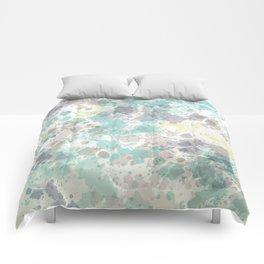 Spotty watercolor design Comforters