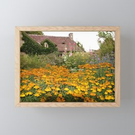 Apremont-sur-Allier Village Cottage Framed Mini Art Print