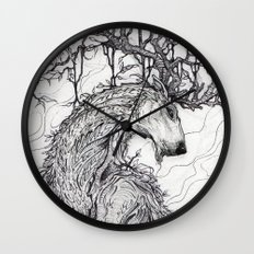 Old Growth Wall Clock