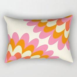 Dahlia at 60's Rectangular Pillow