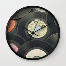Sounds of the 70s II Wall Clock