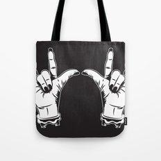 Rock Hands Tote Bag