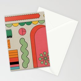 Gate of the universe Stationery Cards