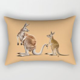 Being Tailed (Colour) Rectangular Pillow