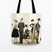 christian Tote Bags featuring Christian by Matias G. Martinez