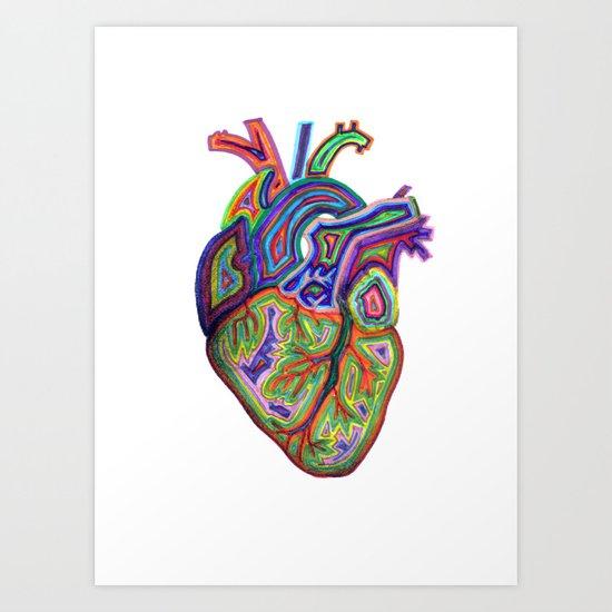cor impetum Art Print