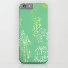 Botanical Pattern - Cactus Slim Case iPhone 6s