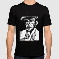 Mighty Mos Def Black Mens Fitted Tee LARGE