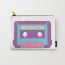 80s Kid series: Cassette T-Shirt T-Shirt Carry-All Pouch