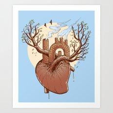 Always in my heart Art Print