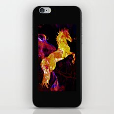 HORSE - War horse iPhone & iPod Skin