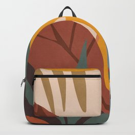 Abstract Art Jungle Backpack