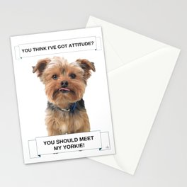 You Should Meet My Yorkie | Dogs | Nadia Bonello | Canada Stationery Cards