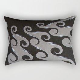 Circulation, No. 1 Rectangular Pillow