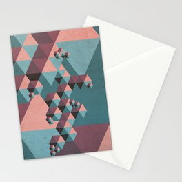Geo-metric Stationery Cards