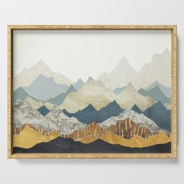 Distant Peaks Serving Tray