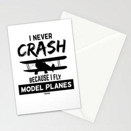 Model glider kit ready to fly Stationery Cards