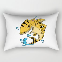 Tiger Shark T Shirt Tigershark Boys Men Kids Predators Gift Idea Rectangular Pillow