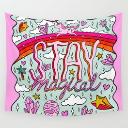 Stay Magical Wall Tapestry
