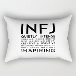 INFJ Rectangular Pillow