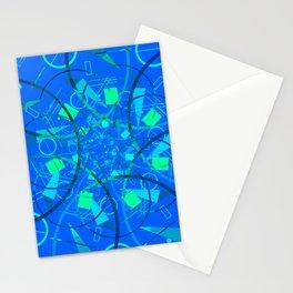Blue Multiverse Stationery Cards