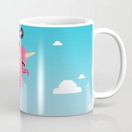 Poulpi et Licornet Coffee Mug