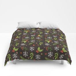 Decorative Christmas Patterns Comforters
