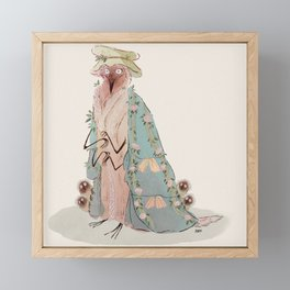 Madame Framed Mini Art Print