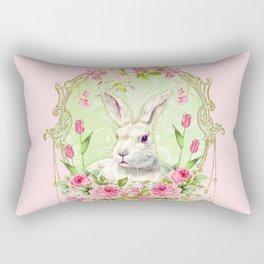 Spring Bunny Rectangular Pillow