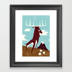 Majestic  Framed Art Print