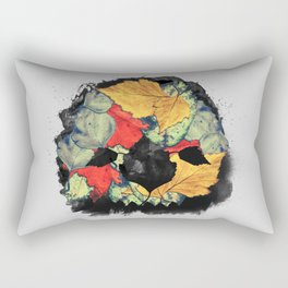 Death of Autumn Rectangular Pillow
